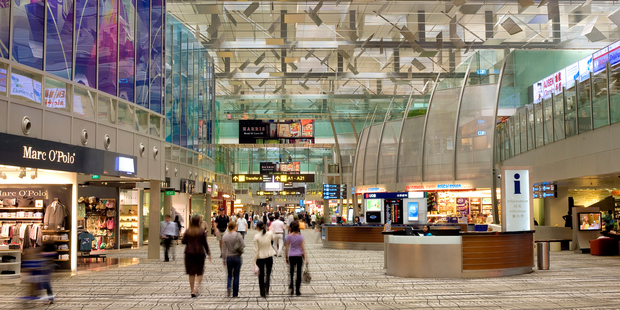 A man lived in luxury for three weeks in Changi Airport. Photo / Getty Images
