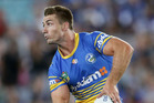 Kieran Foran in action for the Parramtta Eels. Photo / Getty Images