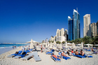 At least Dubai knows how to handle the heat. Photo / Getty Images