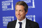 Actor Hugh Grant attends the Hollywood Foreign Press Association's grants banquet. Photo / Getty