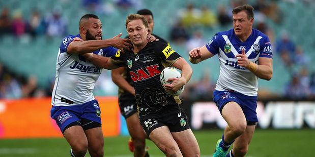 Matt Moylan has been inspirational as captain of the Panthers. Photo / Getty