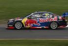 Shane van Gisbergen drives the Red Bull Racing Australia Holden during the Sandown 500. Photo / Getty Images