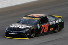 Martin Truex Jr practices for the NASCAR Sprint Cup Teenage Mutant Ninja Turtles 400. Photo / Getty Images