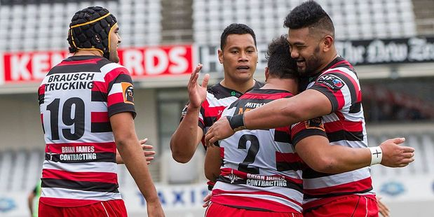 Counties Manukau ran in plenty of tries against Waikato. Photo / Getty