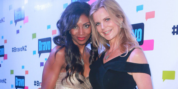 Real housewives of Auckland Michelle Blanchard and Julia Solane. Photo / Norrie Montgomery
