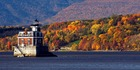 The Hudson-Athens lighthouse. Photo / New York State Division of Tourism