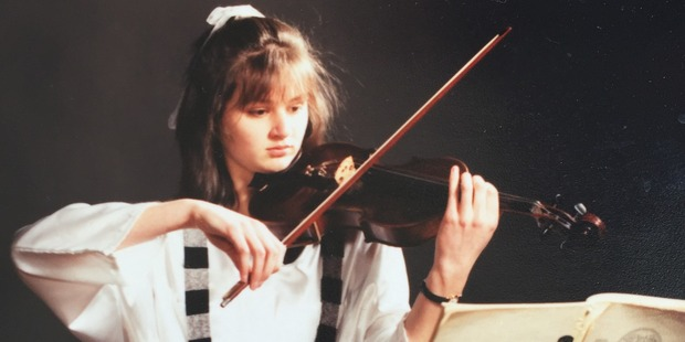 "Belinda Williams, pictured about age 17, has been described as a ""brilliant pupil"". Photo /supplied"