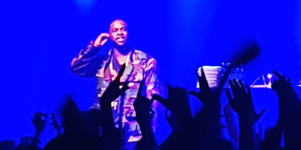 A$AP Ferg performs at the Powerstation.