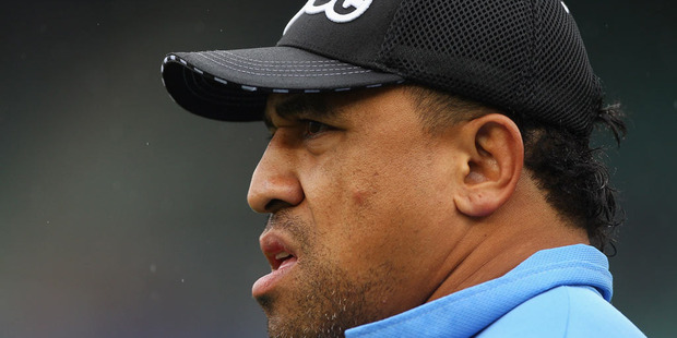 Former NRL player and boxer John Hopoate is behind bars after he allegedly threatened a business owner in Sydney's North Shore. Photo / Getty Images.