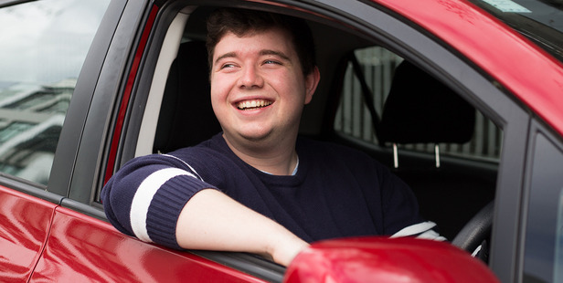 Lucas Arthur has been driving for Uber for four months.