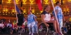 Watch: Liam Malone carries the flag at the Paralympics closing ceremony