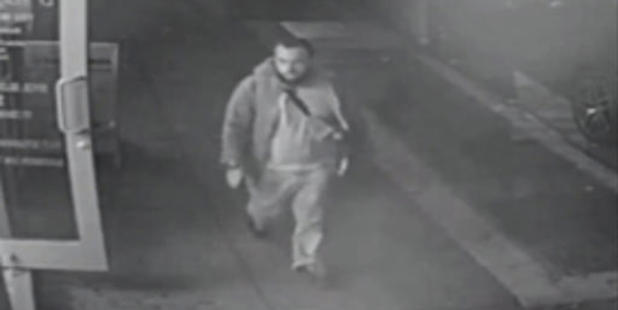This frame from surveillance video released by the New Jersey State Police shows Ahmad Khan Rahami, who was wanted for questioning for the Chelsea bombing. He has been arrested.