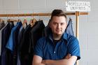 MN Uniform founder and creative director Matt Nash.