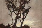 Petrus van der Velden, Tree study, 1893-98, oil on canvas. Gift of the New Zealand Academy of Fine Arts, 1936. Te Papa (1936-0012-120)