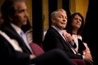 Auckland City Mayoral candidate Phil Goff attends a mayoral debate held in St Heliers. Photo / Dean Purcell