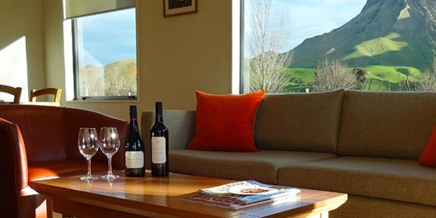 The Sauvignon Blanc cottage at Craggy Range winery.