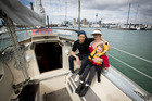 Ruth and Andrew Mitchener will raise their daughter Dot in their new house boat. Photo / Dean Purcell