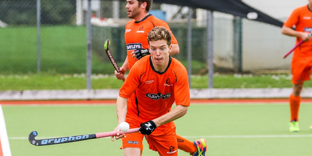 IN FORM: Tauranga's Joseph Lyons scored the first goal for Midlands in their final won over Canterbury. PHOTO/photosport