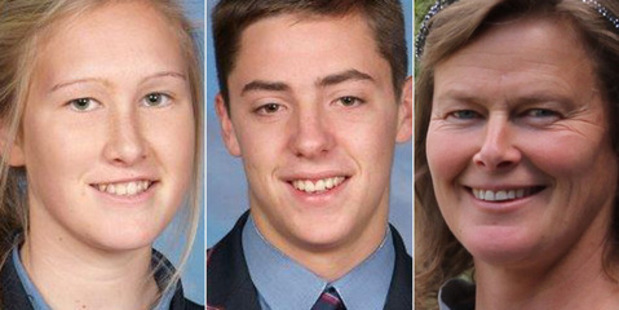 Sadie Stewart, Jamie Wearmouth and Susanna Stewart died in a car crash at Bayleys Beach near Dargaville in June. Photo / Supplied