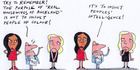 View: Cartoon: Purpose of Real Housewives