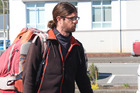 French hitchhiker Cedric Claude Rene Rault-Verpre blasted authorities over their over-zealous behaviour. Photo / Greymouth Star