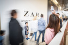 Sylvia Park is preparing for the opening of Zara. Photo /Michael Craig
