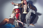 UK performers Frisky and Mannish are