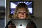 Nicky Atkins is careful to monitor her 7-year-old's screen time after noticing changes in her daughter's behaviour when she watches YouTube. Photo/John Borren.