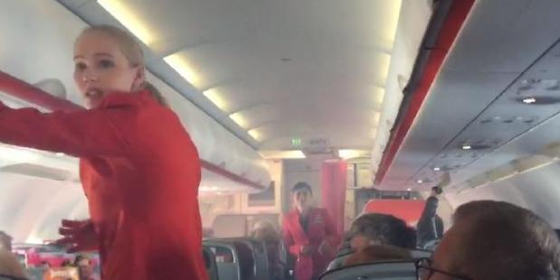 Loading A Jetstar flight from Sydney to Cairns was forced to land in Brisbane after an issue with an engine left the cabin filled with smoke. Photo / Courier Mail