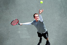 David Baker wants to find the next generation of talent Whanganui tennis players.