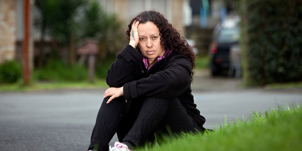Sonia Howes is facing homelessness because she can't find a rental. The terminally ill mum of three said landlords don't seem to want tenants with children. Photo/Andrew Warner 230916aw15bop.JPG