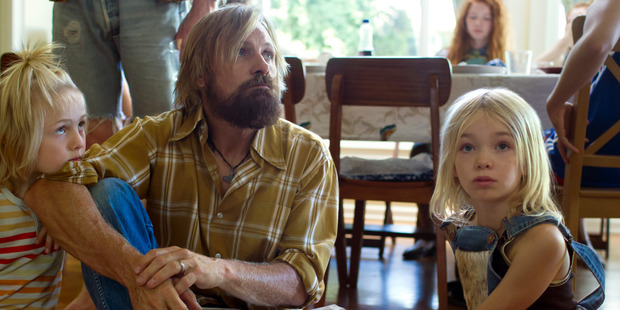 Captain Fantastic has a lot of fun with how the super-bright Cash kids deal with the outside world and their ordinary suburban relatives who live in it. Photo / Erik Simkins