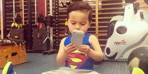 Ezra loves making a gym-selfie in his hometown Havelock North. PHOTO/Instagram