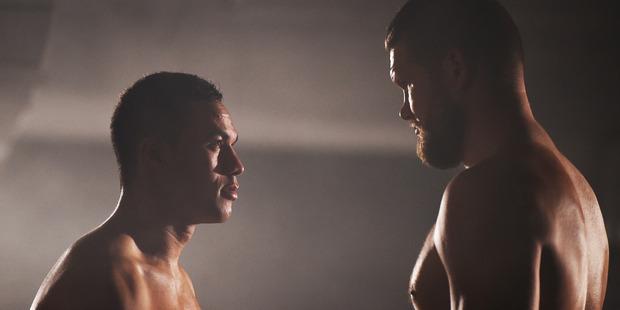 Loading Joseph Parker faces off against Russian boxer Alexander Dimitrenko. Photo / photosport.nz