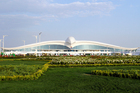 There are concerns hardly anyone will use Turkmenistan's hugely expensive new international airport. Just 105,000 tourists visited the country in 2015, according to government figures. Photo / AP