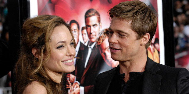 Angelina Jolie and Brad Pitt, who wed in 2014, have raised six children together. Photo / AP