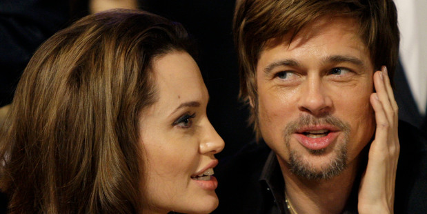 Angelina Jolie and Brad Pitt at the 14th Annual Screen Actors Guild Awards. Photo / AP