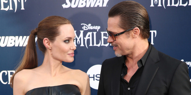 Angelina Jolie filed for divorce from Brad Pitt on Tuesday. Photo / AP