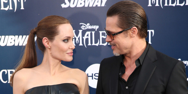Angelina Jolie and Brad Pitt have filed for divorce. Photo / AP