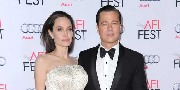 Angelina Jolie filed for divorce from Brad Pitt on Monday for 'the health of her family', two years after they wed at their French estate Chateau Miraval. Photo / AP