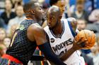 Minnesota Timberwolves' Kevin Garnett, right. Photo / AP