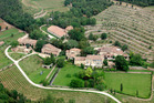 The Miraval estate is located in a village called Brignol, near Aix-en-Provence, France. Photo / AP
