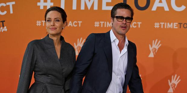 Angelina Jolie and Brad Pitt's split has made headlines around the world. Photo / AP