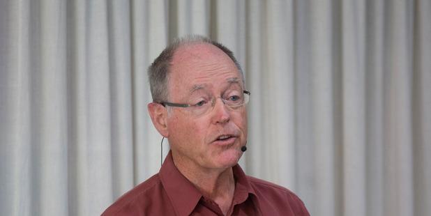 Don Brash, bank chairman, cited infrastructure funding. Photo/Brett Phibbs