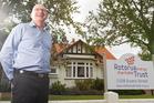 POSITIVE: Tony Gill, new manager of Rotorua Energy Trust.  PHOTO/STEPHEN PARKER