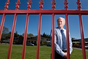 John Paul College principal Patrick Walsh