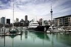 Graeme Hart is selling the 107m explorer yacht Ulysse. Photo / Doug Sherring
