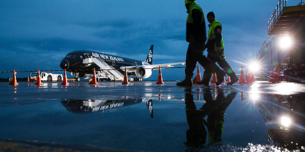 Air New Zealand's share price dropped 3.3 per cent to $1.89 today.