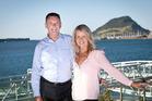 Tauranga Mayor Stuart Crosby and his partner Deborah. Photo/Andrew Warner