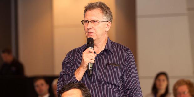 Shareholders Association chairman John Hawkins. Photo / Chris Gorman